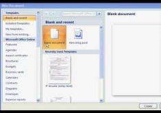 Ms Word 2007 Resume Template Download How To Find The Resume Template In Microsoft Word 2007
