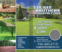 Landscaping Conroe Tx by Christians In Business Lougee Brothers Lawncare And Landscape