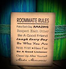 roommate rules roommate rules small dorm and roommate