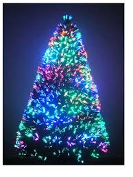fiber optic christmas decorations 7 ft fiber optic christmas tree