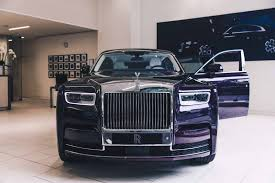 rolls royce phantom price this 2018 rolls royce phantom is purple on purple perfection