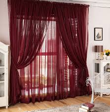 Sheer Maroon Curtains Maroon Sheer Curtains Flirty Living Room Curtains Ideas Abpho
