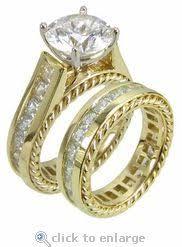 princess cut cubic zirconia wedding sets 17 best cz bridal sets images on wedding sets 1 carat