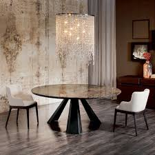 cattelan italia eliot round dining table vale furnishers