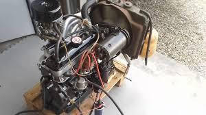 renault dauphine engine premier démarrage moteur dauphine 1093 youtube