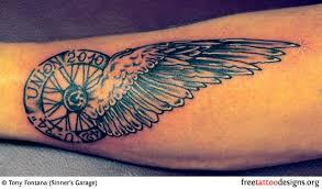 biker and harley davidson tattoos tattoos harley