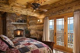 Log Home Bedrooms House Of The Week Ski Into This Log Home And Catch The Sunset