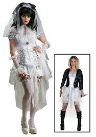 diamond halloween costume gothic bride of chucky costume