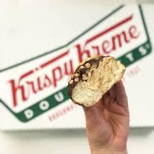 krispy kreme reese s doughnuts review popsugar food