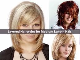 hairstyle for medium hair length