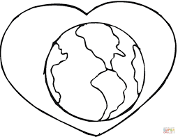 click the save our planet plant a tree coloring pages to view