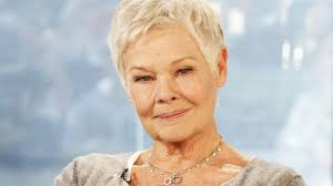 judi dench hairstyle front and back of head judi dench on aging i d rather be young and know nothing closer