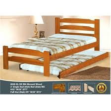 Bed Frame Only Green Home Sb 904 Single Bed Frame Only Oak Without Pull