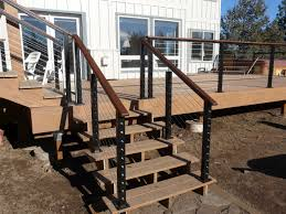 home depot wire deck railing design and ideas