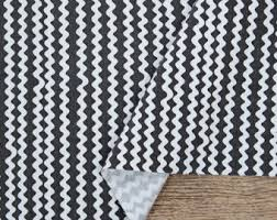 Washing Upholstery Fabric On Sale Zig Zag Print Black And White Chevron Print Cotton Fabric