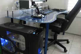 l shaped gaming computer desk desk beautiful best desks for gaming alluring pc gaming setup