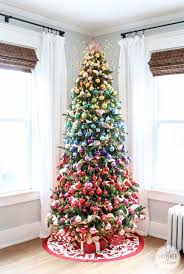 Christmas Decorations On Trees by 19 Christmas Tree Themes C R A F T