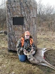 Building A Box Blind Deer Hunting Deer Stands Ground Blinds Stands Deer Blinds