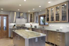 Stainless Steel Kitchen Backsplashes Homed Granite Countertops Stainless Steel Kitchen Backsplash