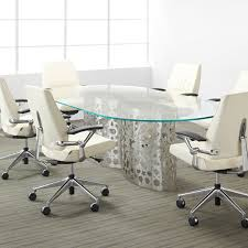 mesmerizing glass conference room table rectangle shape clear