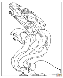 the troubles from pandora u0027s jar coloring page free printable