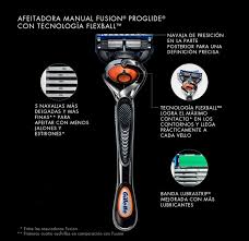 rastrillo manual fusion5 proglide gillette mx