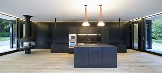 architecture wonderful black themed kitchen style with two pretty