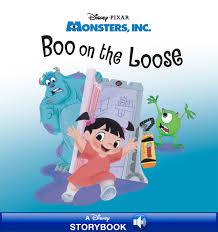 monsters boo loose disney books disney
