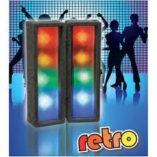 disco light retro led clip together disco light box