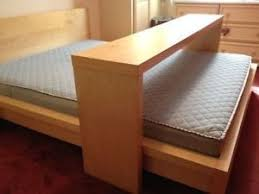 rolling table over bed ikea rolling over bed table or side table for long narrow hallway ebay