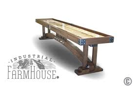 Crafstman by Craftsman Shuffleboard Table The Industrial Farmhouse