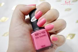 bys matte pink nail polish review fashion fairytale a tale of