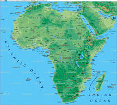 Africa On The Map by Map Of Africa Map In The Atlas Of The World World Atlas