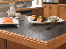 Kitchen Top Materials Tremendous Modern Kitchen Design With Galaxy Black Granite Table