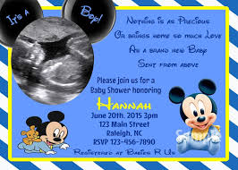 mickey mouse baby shower invitations now blank mickey mouse baby shower invitations free