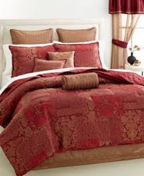 Patchwork Comforter Martha Stewart Collection Manor Patchwork 22 Pc Queen Comforter