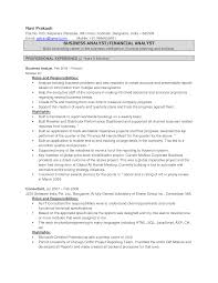 Business Analyst Roles And Responsibilities Resume Cover Letter Obiee Business Analyst Resume Obiee Business Analyst
