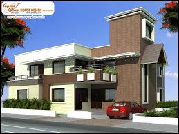 duplex house plan with elevation house plans