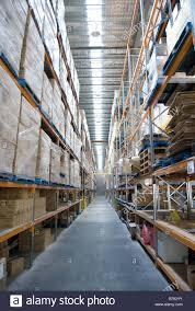 large warehouse interior online distribution port hills road