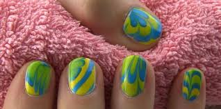 water marble nail art 13 steps with pictures