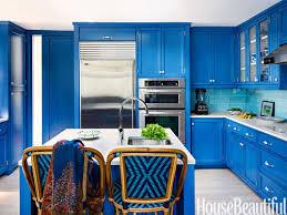 Cobalt Blue Kitchen Cabinets Kitchen Cabinet Colors Black Design