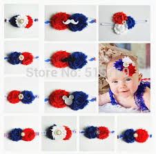 4th of july headbands 1pc 20 styles infant flowers headband babies 4th of july hairband