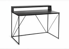 petit bureau noir bureau noir excellent amnagement bureau ikea source bureau noir et