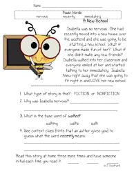 reading comprehension worksheets for 2nd grade u2013 wallpapercraft