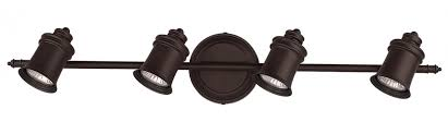 oil rubbed bronze track lighting canarm it299a04orb10 taylor 4 light wall or ceiling track lighting