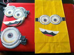 minion party bags the crafty crazy
