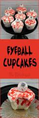 the partiologist eyeball cupcakes