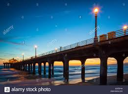 manhattan beach pier lighting 2017 manhattan beach pier stock photos manhattan beach pier stock