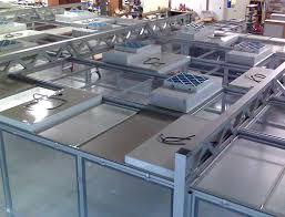 Cleanroom Ceiling Tiles by Clean Room Ceiling Weaver Technologies