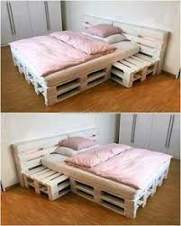 Bed Frame Made From Pallets 25 Easy Diy Bed Frame Projects To Upgrade Your Bedroom Bed